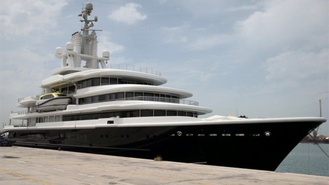 Farkhad Akhmedov Wins 436m Superyacht In Divorce Fight Bbc News