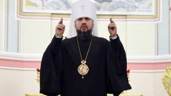 39-річний митрополит Епіфаній став першим головою автокефальної помісної православної церкви України