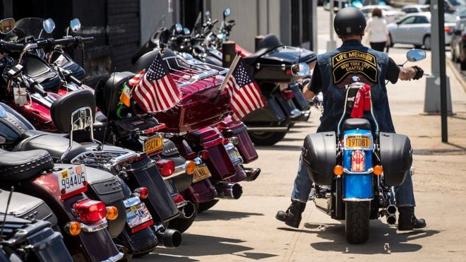 Donald Trump Harley Davidsons Should Never Be Made Abroad Bbc News