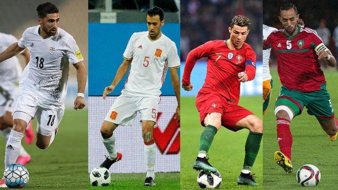 گروه B جام جهانی روسیه