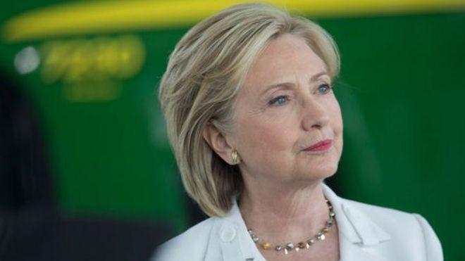 Hillary Clinton amelilamu shirika la FBI na wadukuzi wa Urusi kwa kushindwa kwake katika uchaguzi mkuu