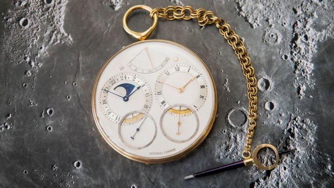 61b8ce23e George Daniels pocket watch sets world record with £3.6m sale - BBC News
