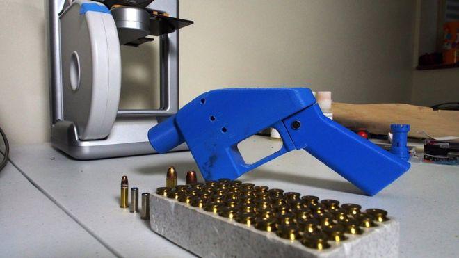 یک نوع از سلاح های قابل چاپ