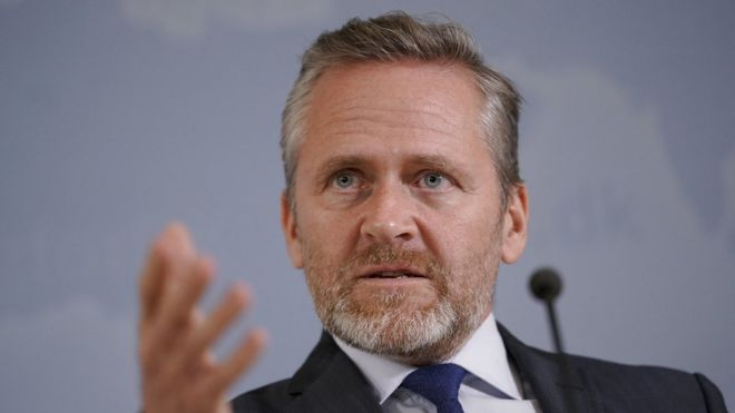 وزیر خارجه دانمارک
