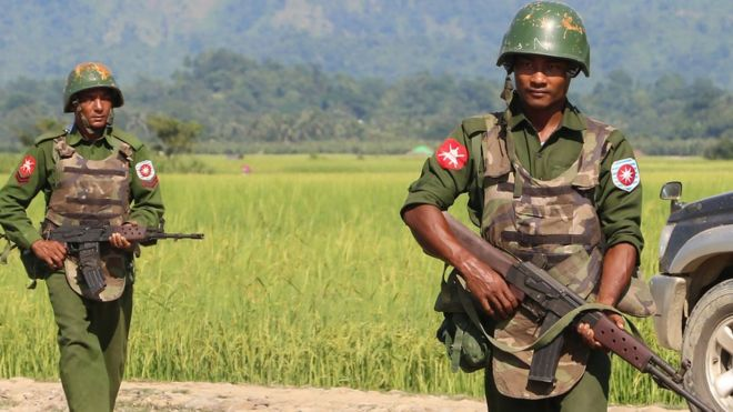 The Burmese military has carried out brutal massacres against the Rohingya.