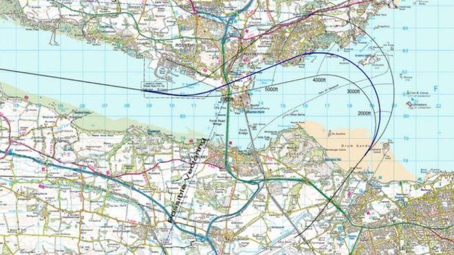 Edinburgh Airport flight path plan resubmitted - BBC News