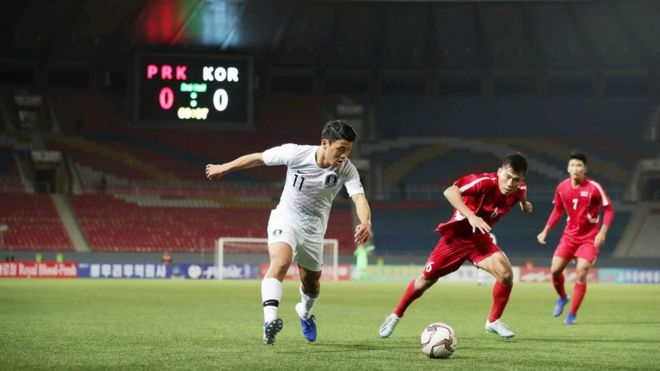 North Korea v South Korea: Match was 'like war', says South