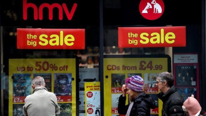 hmv did streaming cause retailer to fail bbc news