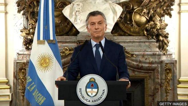 Tổng thống Mauricio Macri