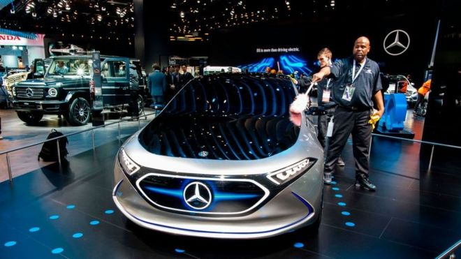 Four Things We Learnt From This Years Detroit Car Show BBC News - Car show detroit
