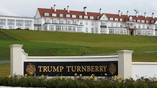 Trump Turnberry: US Air Force to review Scotland resort