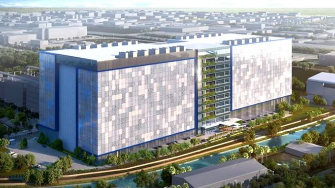 Facebook chooses singapore for 1bn data centre bbc news a concept design for facebooks new data centre in singapore reheart Image collections