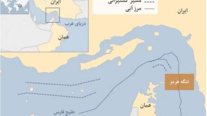 نقشه خلیج فارس