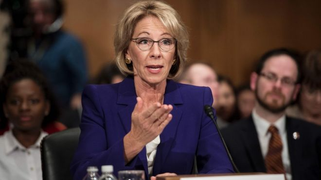 Betsy Devos Is Wrong About >> Why Is Betsy Devos Trump S Pick For Education Secretary So