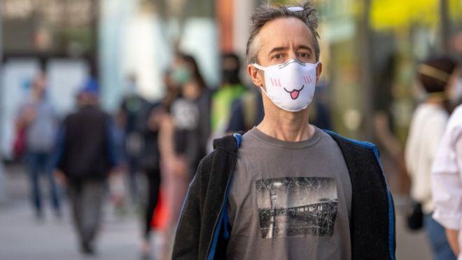 корнавірус, маска