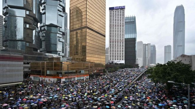 Hong Kong extradition row: Will it damage its star status