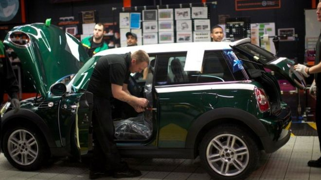 Bmw To Close Mini Plant For A Month Post Brexit Bbc News
