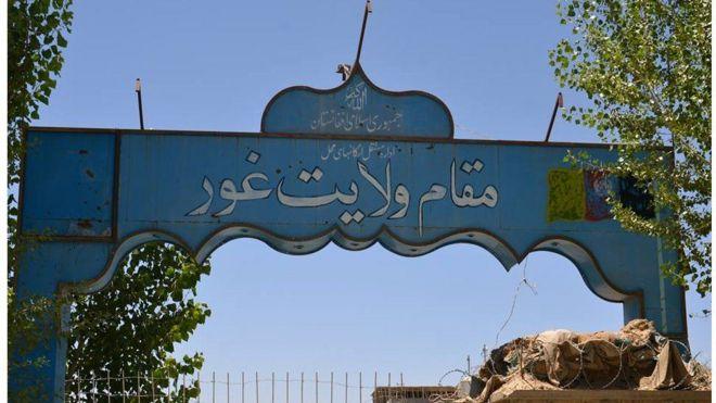 یک رادیویی محلی در ولایت غور به آتش کشیده شد