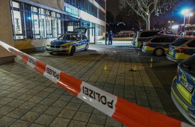 Gelsenkirchen'de Türkiye kökenli 37 yaşındaki kişinin polis tarafından vurularak öldürüldüğü yer