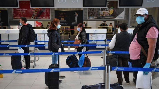 新冠疫情造成航空旅行面目全非
