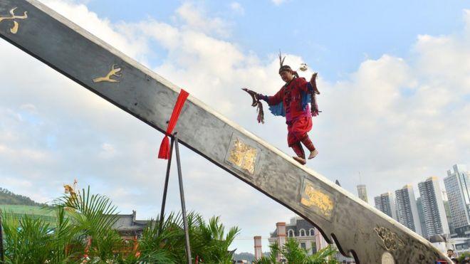 Lễ hội của người sắc tộc thiểu số ở Quý Châu, vùng Tây Nam TQ