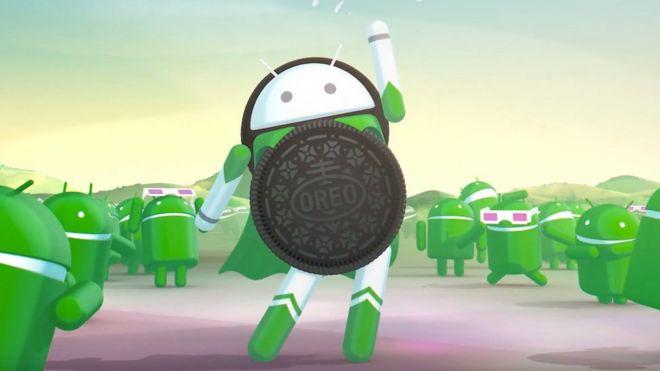 Logo de Android Oreo