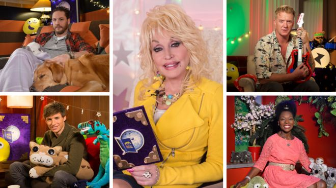 CBeebies Bedtime Stories: How Tom Hardy, Dolly Parton, and now