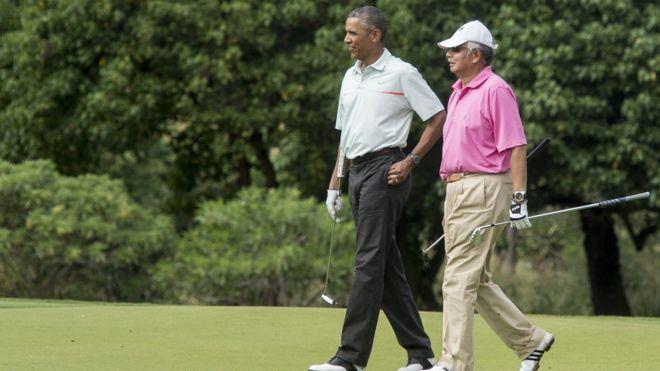 Mr Najib Razaak iyo Barack Obama