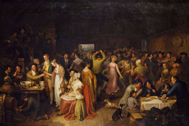 """لوحة """"العرس"""" لألكساندر كارس من بين اللوحات التي تم شراؤها بهبة سميث"""