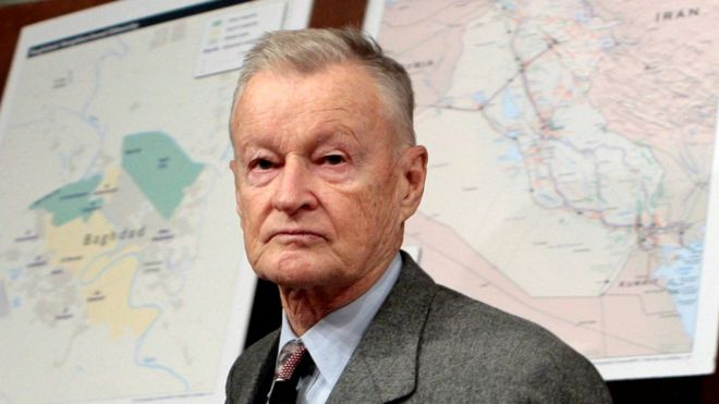 Former National Security Adviser Zbigniew Brzezinski in 2007