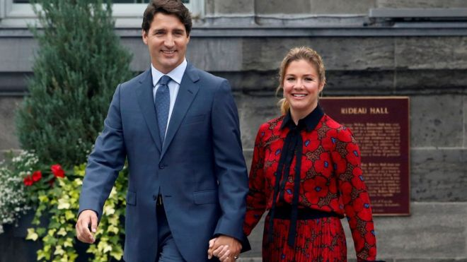 Wife of Canada's Prime Minister Tests Positive for Virus