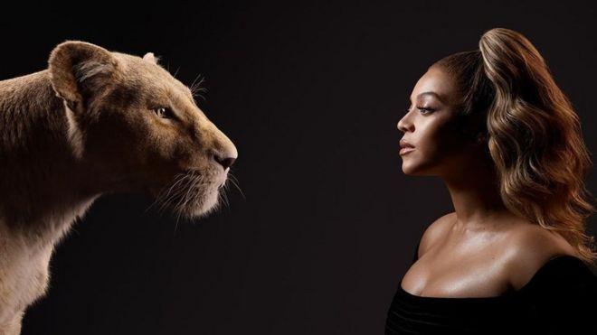Beyoncé's Lion King album is more about Beyoncé than The