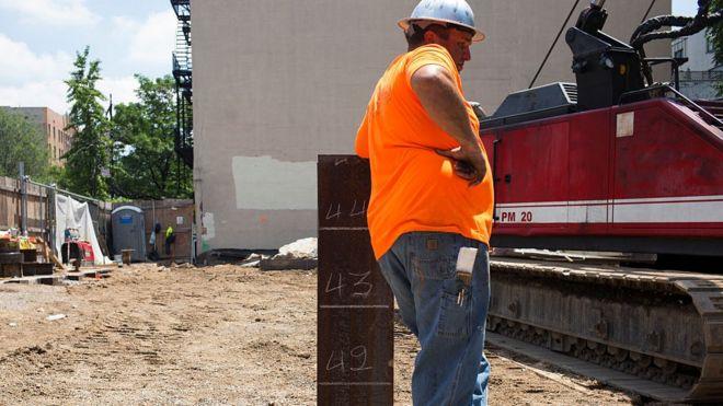 美國建築工人