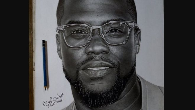 A portrait of Kevin Hart