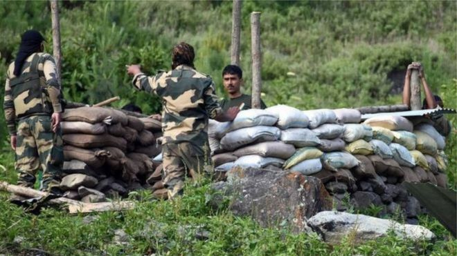印度边界士兵