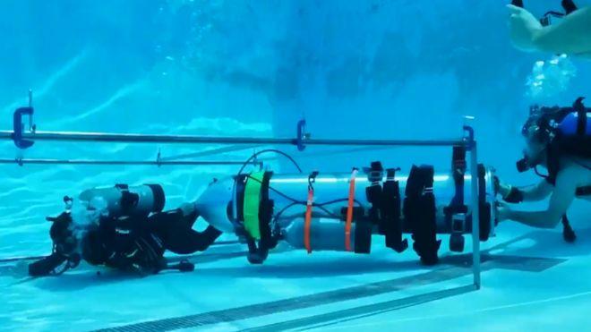 cápsula submarina
