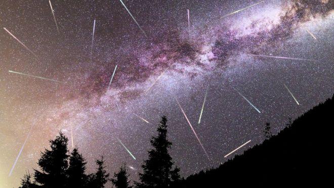 شہاب ثاقب، آسمان، فلکیات،