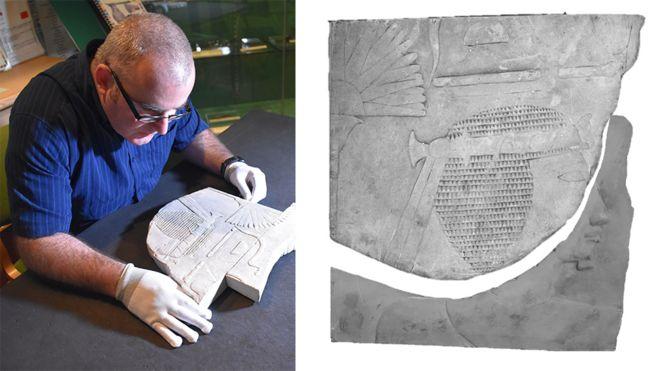Rare female pharaoh artwork found at Swansea University _100531223_ecomp1