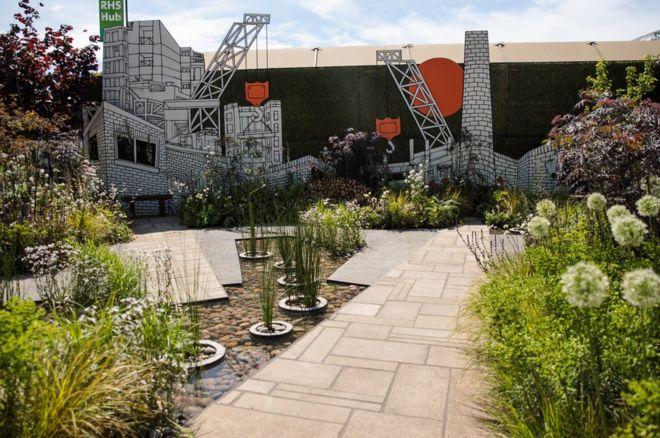 """The """"RHS Greening Grey Britain Garden"""""""