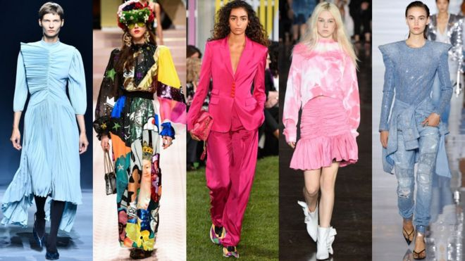 The Five Biggest Fashion Looks For Spring 2019 Bbc News