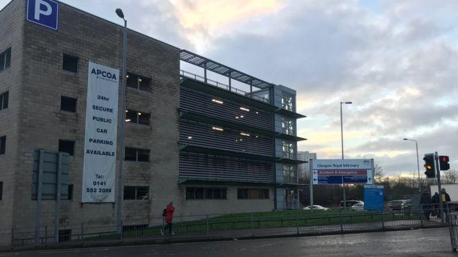 Glasgow royal infirmary