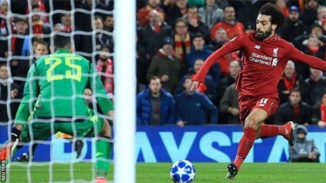 دوري أبطال أوروبا: ليفربول يهزم نابولي بهدف لمحمد صلاح وبرشلونة يتعادل مع توتنهام