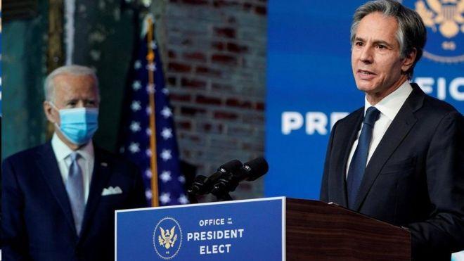 تعهد أنتوني بلينكن بالتشاور مع حلفاء الولايات المتحدة قبل العودة إلى الاتفاق النووي الإيراني