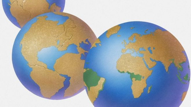 Durante cientos de millones de años el aspecto de la Tierra ha cambiado.