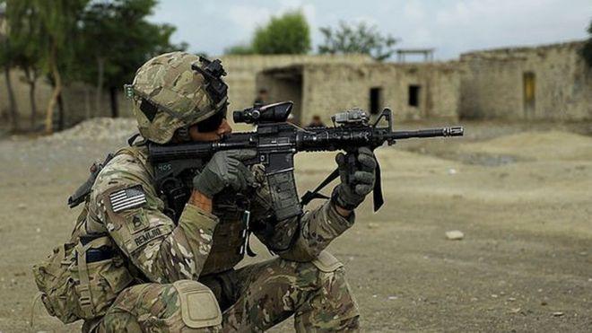 جندي أمريكي في أفغانستان