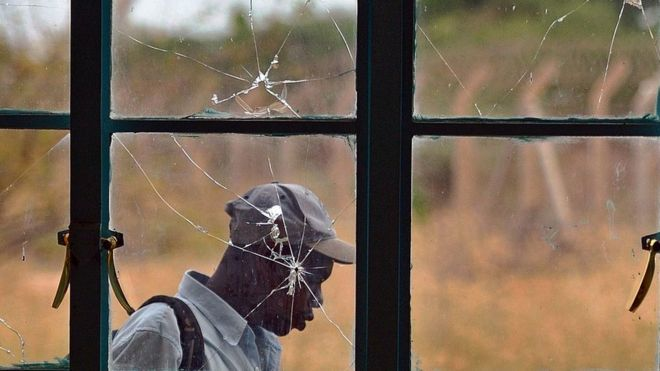 Scenes at Garissa University after al-Shabab militants attacked
