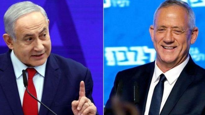 آغاز شمارش آراء در اسرائیل؛ نتانیاهو و گانتس در رقابتی تنگاتنگ