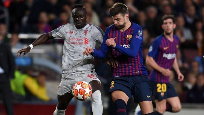 Karan battar Liverpool da Barcelona - BBC News Hausa