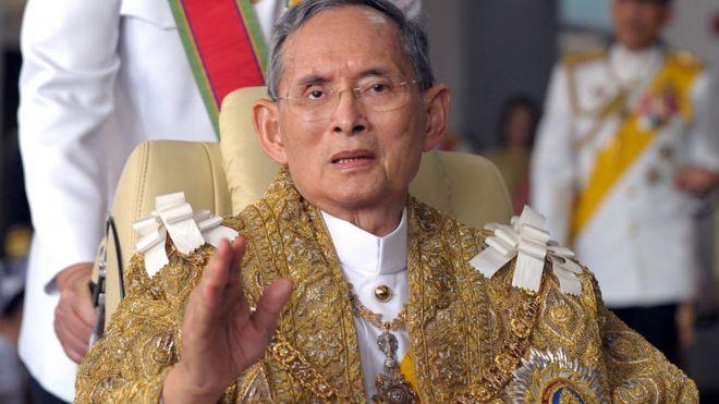 Quốc vương Bhumibol của Thái Lan