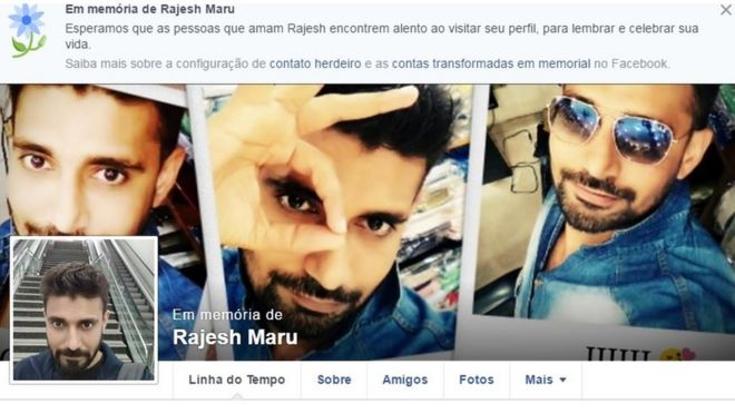 Fotos de Rajesh Maru no Facebook